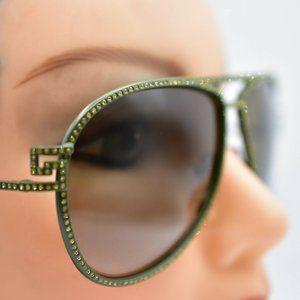 Versace 2171-B Sunglasses Dark Green Gradient Avia